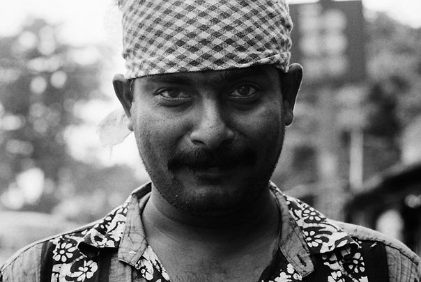 Man With A Bandana (India)