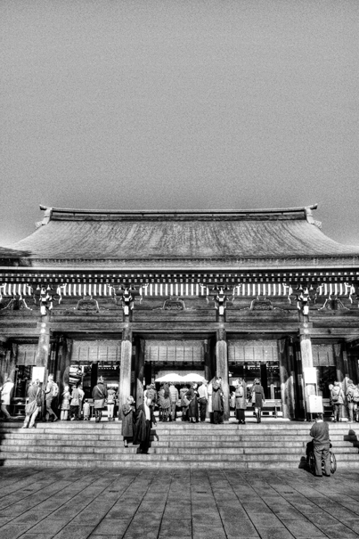 Hall Of Worship Of Meiji Jingu @ Tokyo