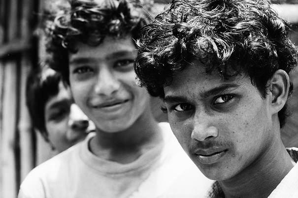 Eyes Of Three Boys @ India