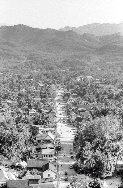 Street In Luang Prabang (Laos)