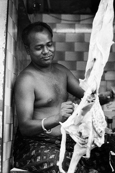 Butcher Smiled @ India