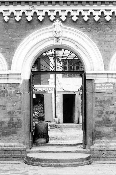 Man At The Gate @ Nepal