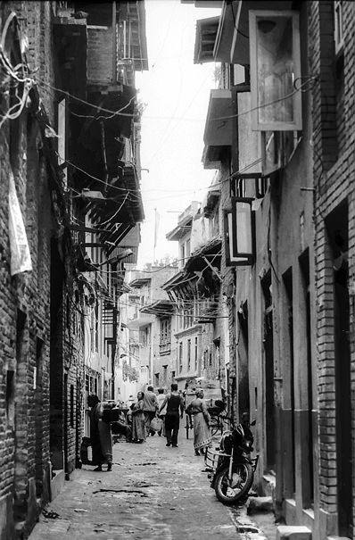 Lane Of The Old City (Nepal)