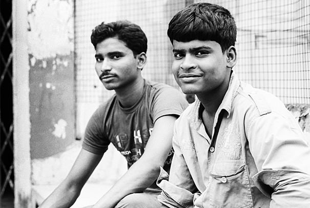 Two Men Were Sitting @ India