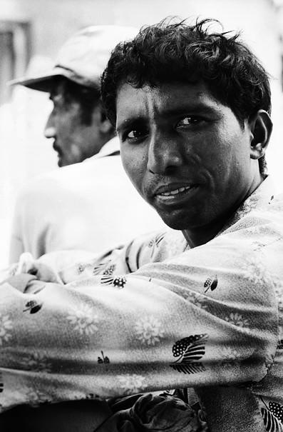 Keen-eyed Man (India)