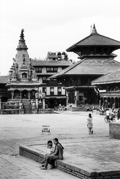 Three In The Durbar Square (Nepal)