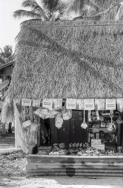 General Store With The Thatch Roofing (Laos)
