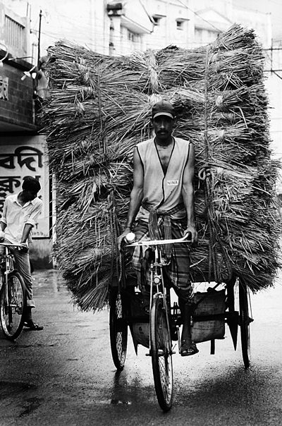 Burdens On The Tricycle (India)