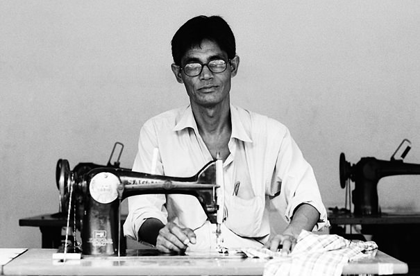 Seamster With Glasses (India)