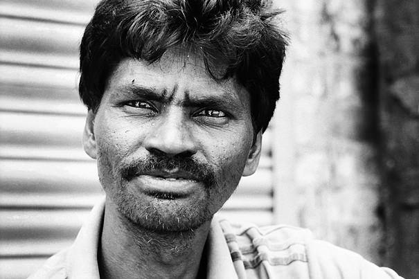 Man With Gimlet Eyes (India)