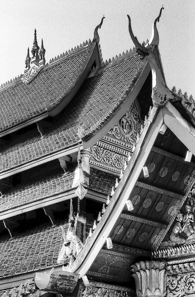 Roof Of A Buddhist Temple (Laos)