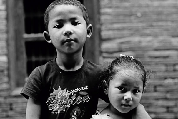 Young Siblings (Nepal)