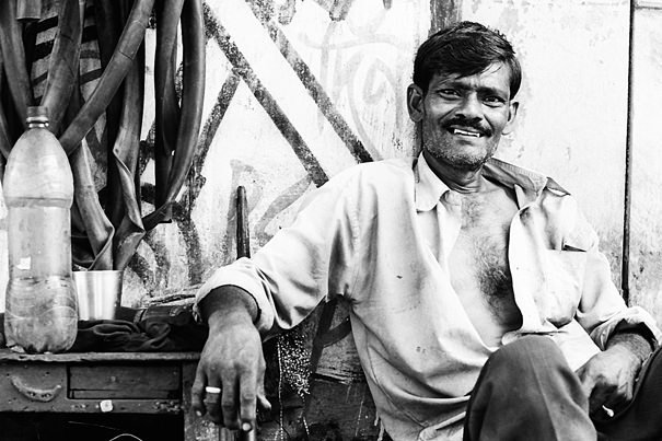 The Man Was A Repairman @ India