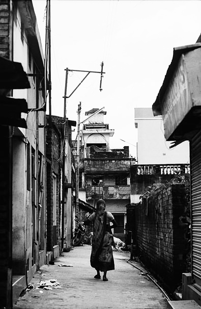 Woman In The Lane @ India
