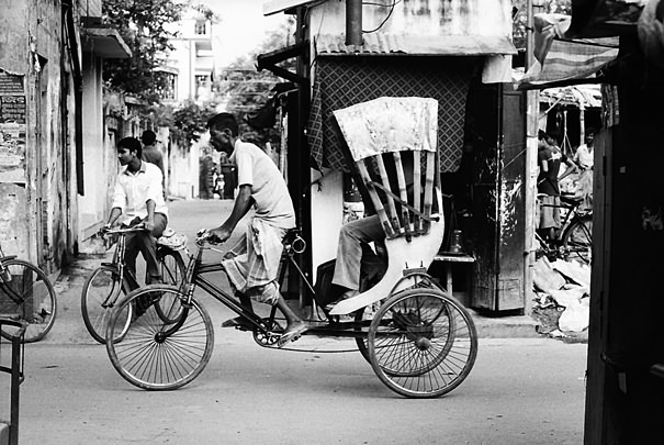 Coursing Cycle Rickshaw (India)