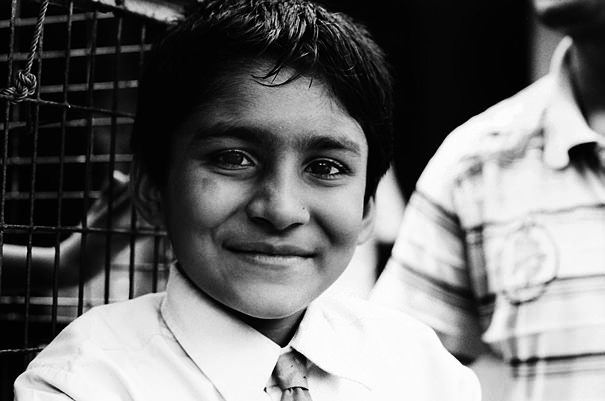 Boy With A Tie (India)