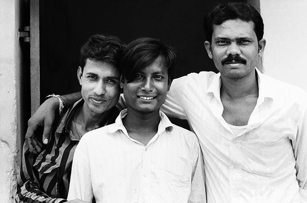 Three Men @ India