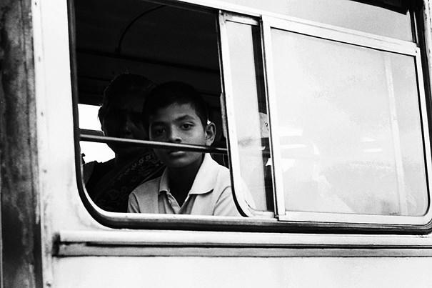 Boy On The Bus @ Sri Lanka