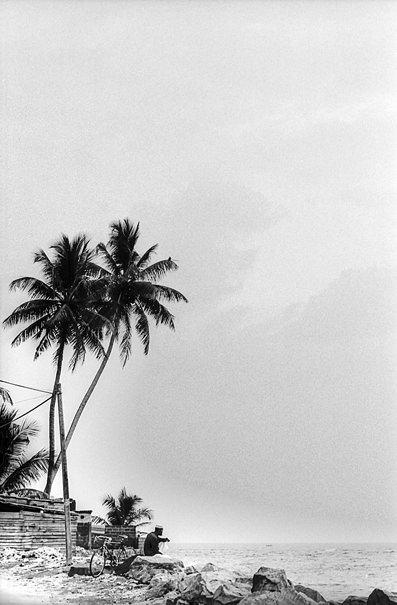 Man On The Pier (Sri Lanka)