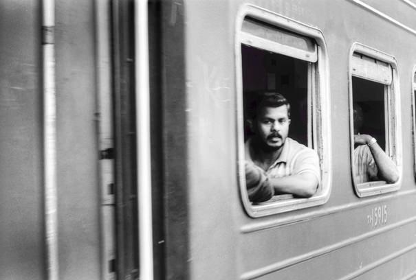 Man By The Car Window (Sri Lanka)