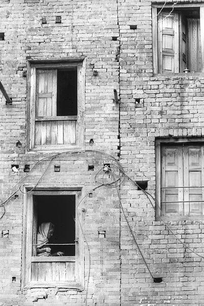 Older Woman By The Window @ Nepal