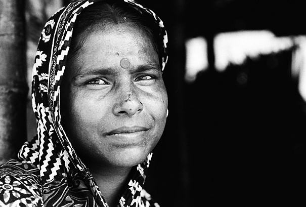 Pensive Eyes Of A Woman @ India