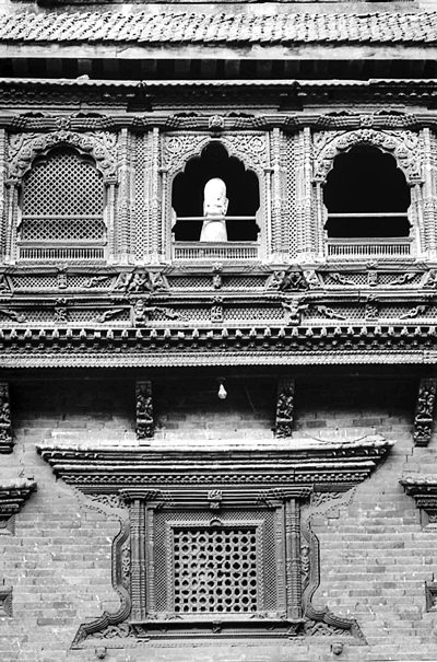 Windows Of Pujari Math (Nepal)