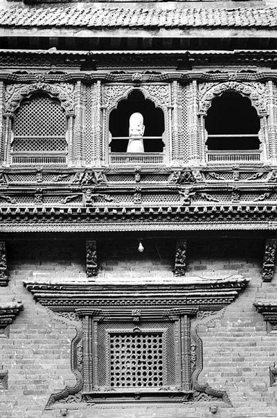 Windows Of Pujari Math @ Nepal