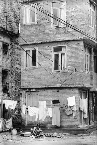 Woman And Laundries (Nepal)