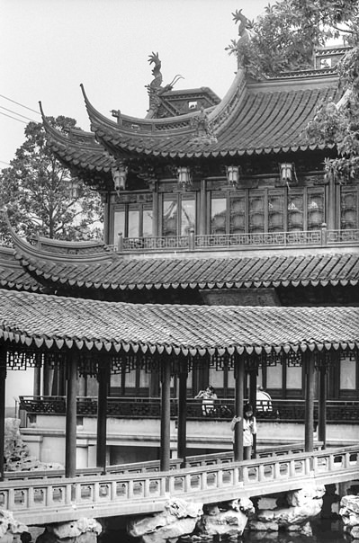 Woman On The Bridge (China)