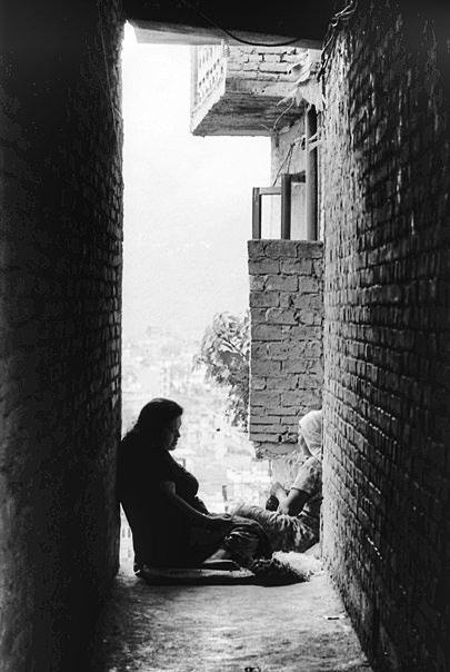 Two Figures Of Women (Nepal)