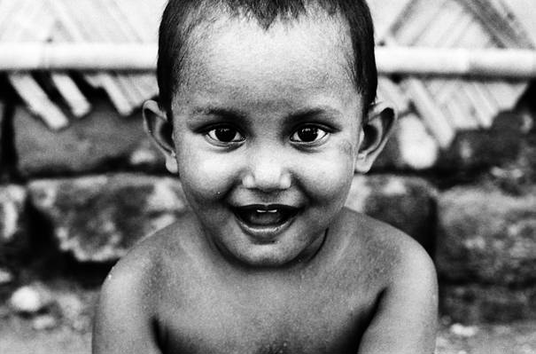 Wide-mouthed Boy @ India