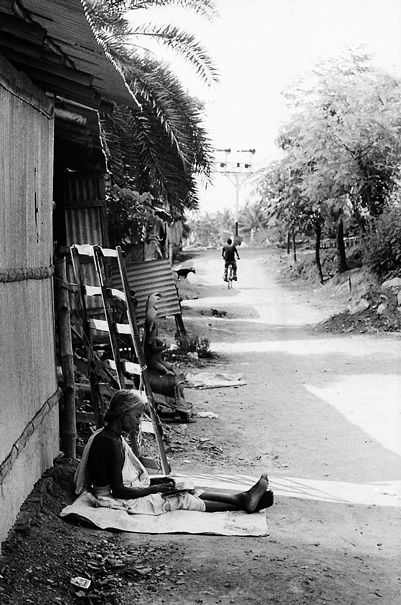 Woman By The Wayside (India)