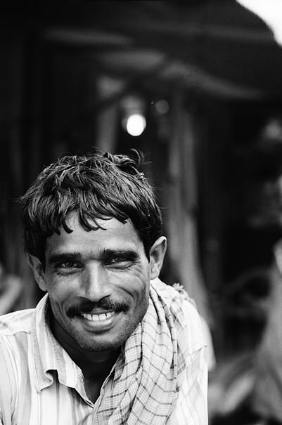 Rickshaw Wallah With A Mustache @ India