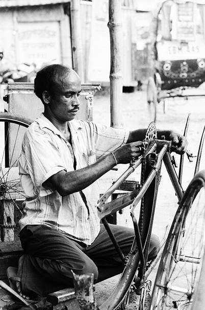 Man Was Just Repairing (India)