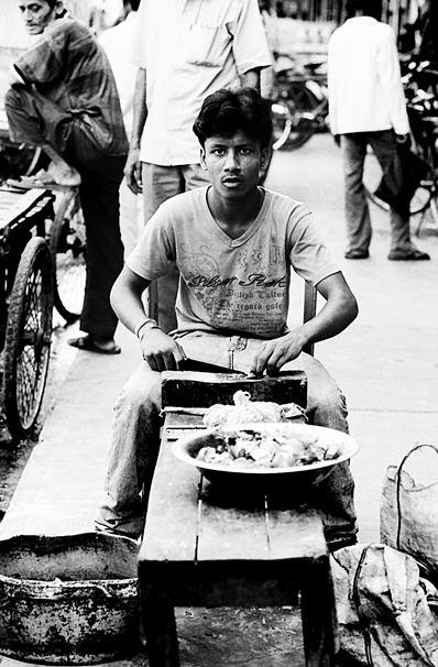 Precooking Man (India)