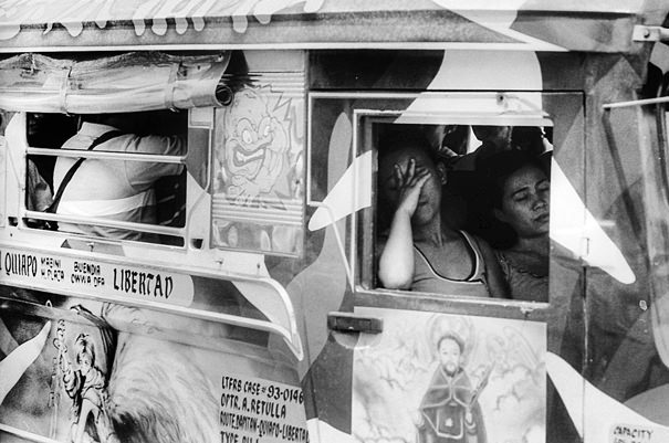 Catnappers On The Jeepney (Philippines)