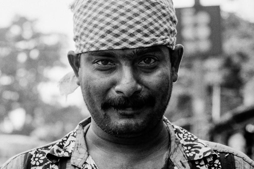 Man with bandana