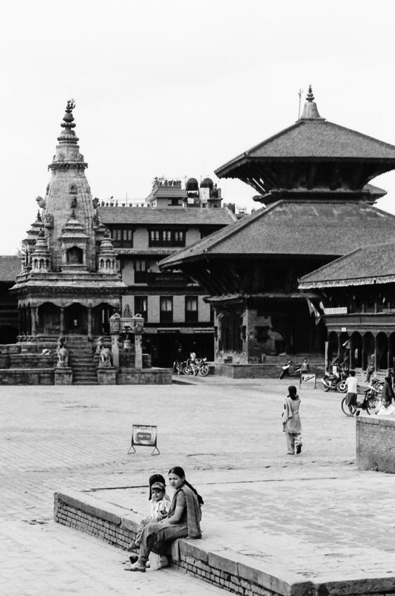 Three in the Durbar square