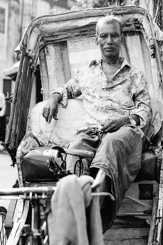 Man sitting on seat