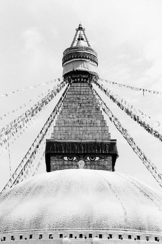 Eyes on stupa