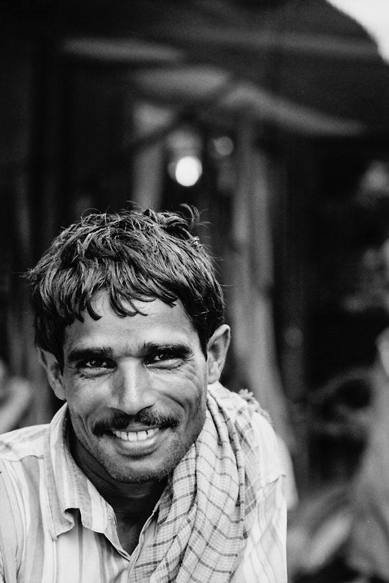 Bashful rickshaw wallah