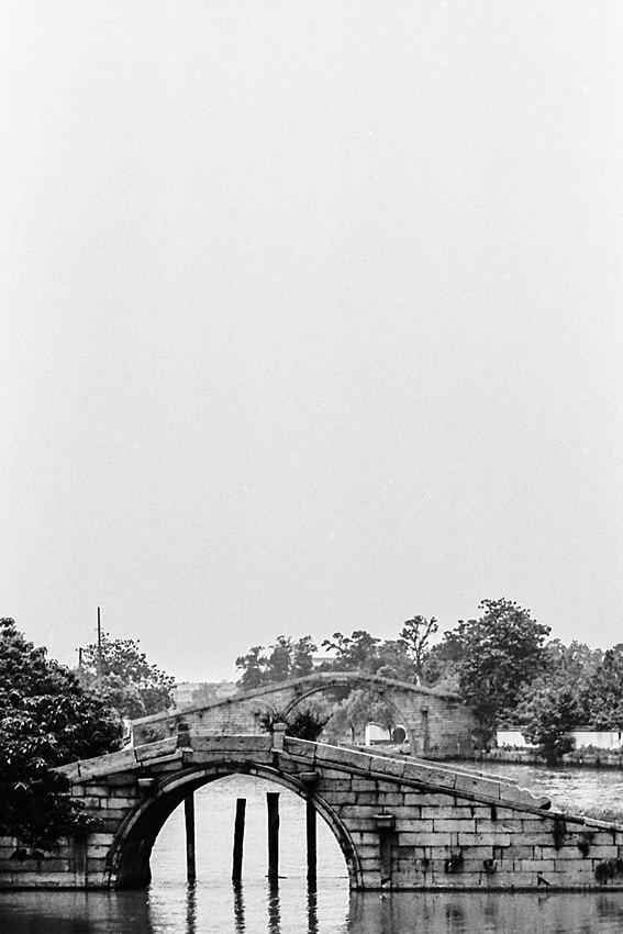 Bridges in water channel