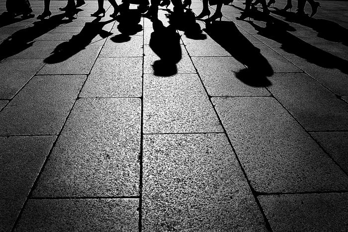 Shadows Of Attendants (Tokyo)