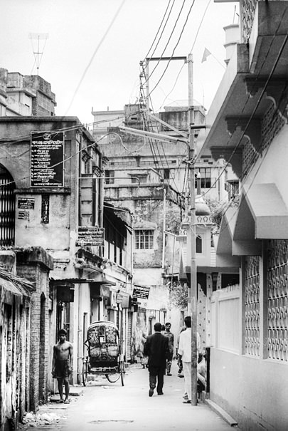 Man Standing On His Own (Bangladesh)