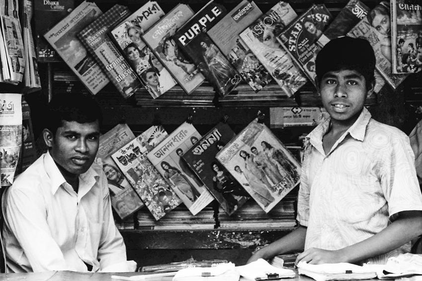 Store staffs in bookstore