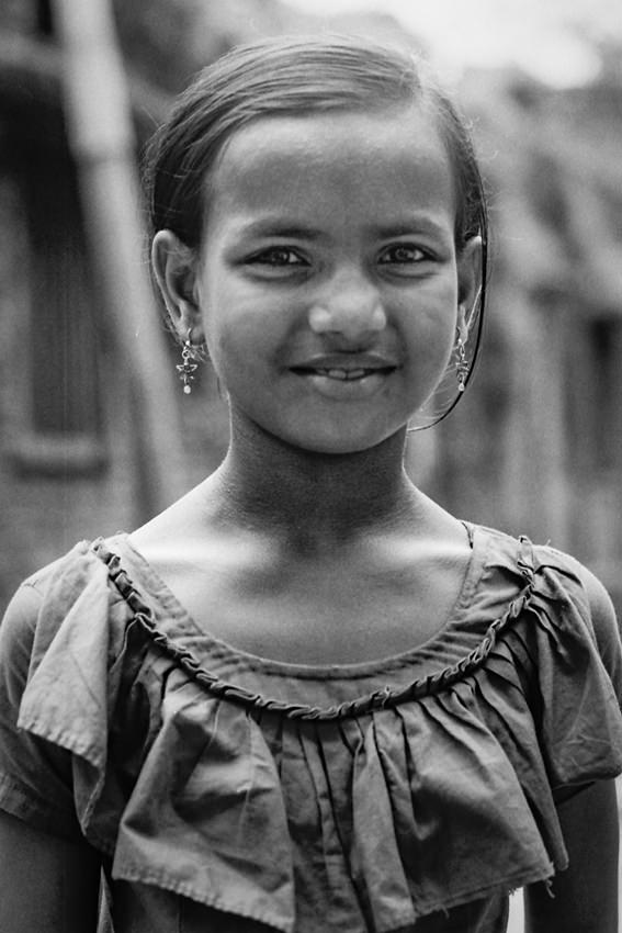 可愛らしい女の子