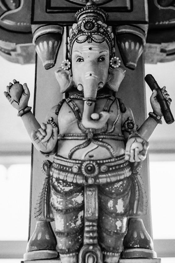 ガネーシャの像