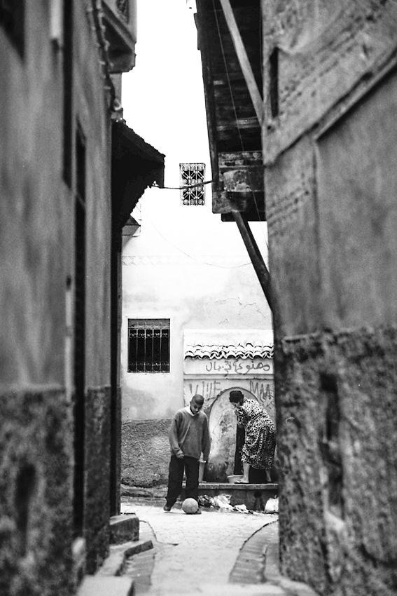 旧市街の井戸