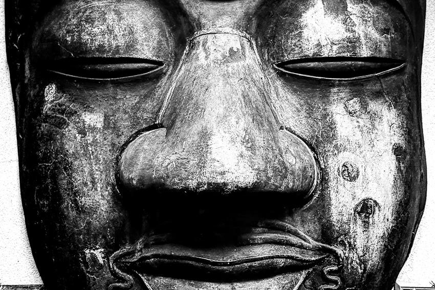 Big nose on big face